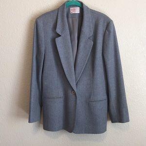 Pendleton 100% wool fully lined blazer
